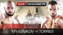 M-1 Challenge 79. Реваншу Мясников-Торрес быть!
