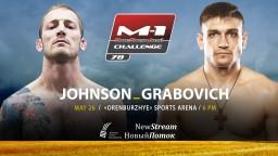 M-1 Challenge 78. Кит Джонсон против Максима Грабовича
