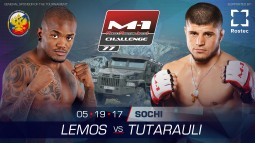 Artur Lemos vs Raul Tutarauli fight is set for M-1 Challenge 77, May 19, Sochi
