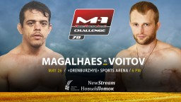 M-1 Challenge 78. Кайо Магальяэеш против Дмитрия Войтова