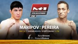 M-1 Challenge 78. Рубенилтон Перейра против Орозбека Марипова
