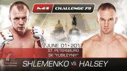 Состав участников турнира M-1 Challenge 79: Шлеменко против Хэлси