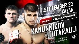 Vladimir Kanunnikov vs Rauli Tutarauli, M-1 Challenge 83
