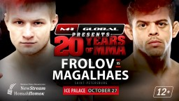 M-1 Challenge 84. Титул чемпиона оспорят Кайо Магальяэш и Артем Фролов