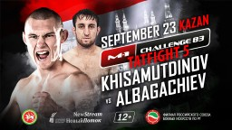 M-1 Challenge 83. Алик Албагачиев против Руслана Хисамутдинова