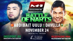 Rematch Diego Davella vs Busurmankul Abdibait Uulu at M-1 Challenge 86, Battle of Narts!