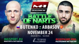 Alexander Butenko takes on Kiamrian Abbasov at M-1 Challenge 86: Battle of Narts
