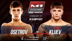 M-1 Challenge 88: Sergey Klyuev (5-0) vs. Alexander Osetrov (3-0).