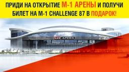 Билеты на турнир M-1 Challenge 87!