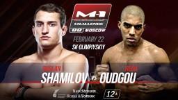 Middleweight bout at M-1 Challenge 88: Reda Oudgou vs. Ruslan Shamilov.
