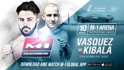 M-1 Challenge 89. Даниэль Васкес против Ивана Кибалы