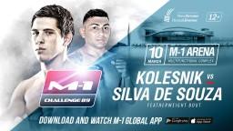 Featherweight bout at M-1 Challenge 89: David Silva De Souza vs. Viktor Kolesnik.