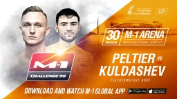 M-1 Challenge 90. Дамьен Пелтье против Максима Кулдашева