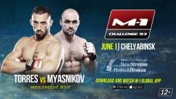 M-1 Challenge 93. Энок Солвес Торрес против Валерия Мясникова