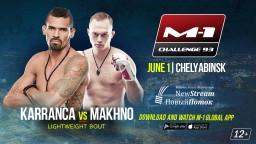 M-1 Challenge 93. Рожерио Карранка против Алексея Махно