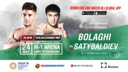 Aziz Satybaldiev will replace Busurmankul Abdibait Uulu in the fight against Saba Bolaghi at M-1 Challenge 92