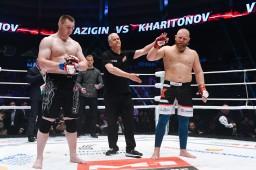 !!Результаты боя между Сергеем Харитоновым и Антоном Вязигиным изменен на No Contest