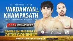 M-1 Challenge 94. Суксаван Хампасат против Гегама Варданяна
