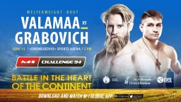 M-1 Challenge 94. Юхо Валамаа против Максима Грабовича