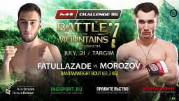 Zaka Fatullazade steps in to replace Alexander Lunga against Sergey Morozov at M-1 Challenge 95