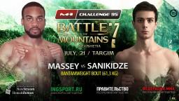 M-1 Challenge 95. Эдвард Мейсси против Мате Саникидзе