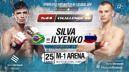 M-1 Challenge 96. Мичел Сильва против Алексея Ильенко