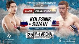 M-1 Challenge 96 co-main event: Daniel Swain vs. Viktor Kolesnik