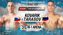 M-1 Challenge 96. Филип Коварик против Артема Тарасова