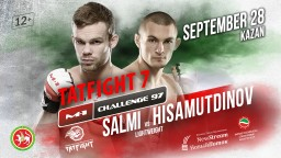 M-1 Challenge 97 TATFIGHT 7. Яни Салми против Руслана Хисамутдинова