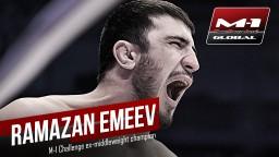 Рамазан Эмеев: «Я буду драться дома – все будет по моим правилам»