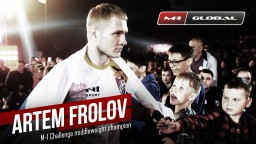 Interview with the M-1 Challenge middleweight champion Artem Frolov