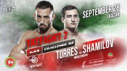 M-1 Challenge 97 TATFIGHT 7. Энок Солвес Торрес против Руслана Шамилова