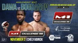 M-1 Challenge 98. Эмануэль Дава против Ивана Богданова