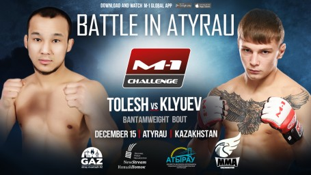 M-1 Challenge Battle in Atyrau. Сергей Клюев против Абылая Толеша