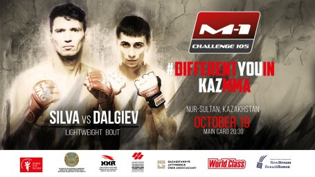 Michel Silva vs. Khamzat Dalgiev at M-1 Challenge 105