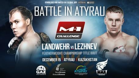M-1 Challenge Battle in Atyrau. Бой за титул чемпиона M-1 Challenge в полулегком весе