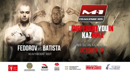 Olympic medalist Michel Batitsta steps in to face Yuriy Fedorov at M-1 Challenge 105