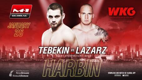 Dmitry Tebekin vs. Marcin Lazarz at WKG&M-1 Challenge 100