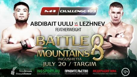 M-1 Challenge 103 Битва в Горах. Андрей Лежнев против Бусурманкула Абдибаита Уулу