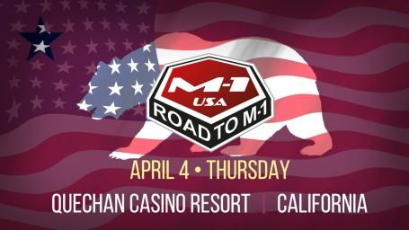 M-1 Global возвращается в Соединённые Штаты Америки с турниром «Дорога в М-1: США 2».