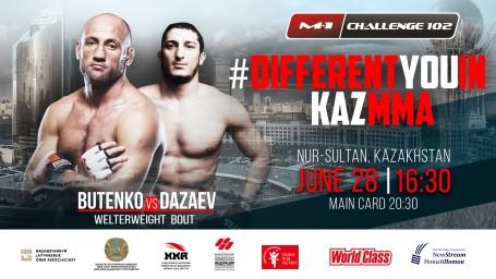 M-1 Challenge 102. Александр Бутенко против Гойти Дазаева