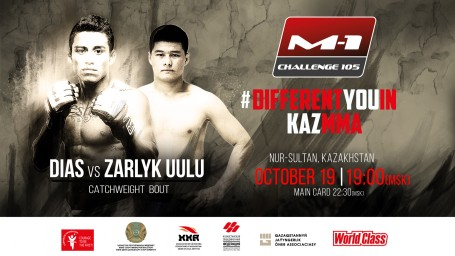 Zalkarbek Zarlyk Uulu steps in to replace Kadirzhan Abylaikhan at M-1 Challenge 105