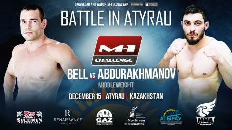 M-1 Challenge Battle in Atyrau. Брэндон Белл против Мурада Абдурахманова