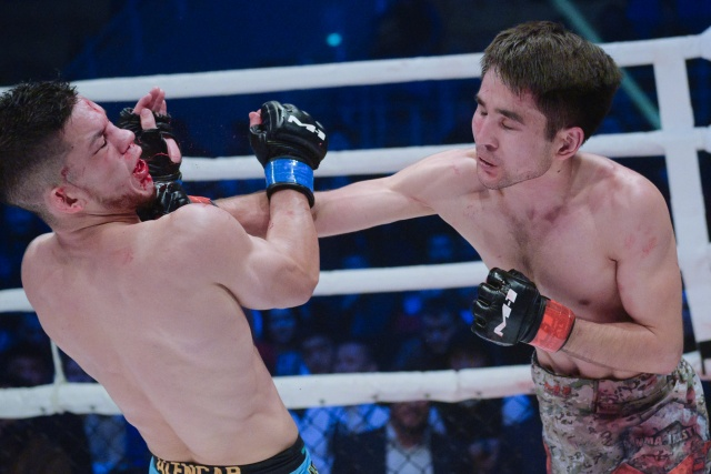 Кайк Аленкар vs Арман Ашимов, M-1 Challenge 101