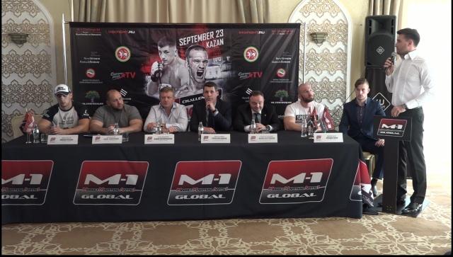 M-1 Challenge 83: Рагозин vs Холси пресс-конференция