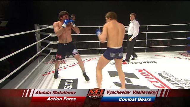 Вячеслав Василевский vs Абдула Муталимов, M-1 Selection 2009 2