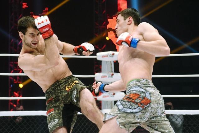 Амиран Гоголадзе vs Станислав Подольский, M-1 Challenge 87
