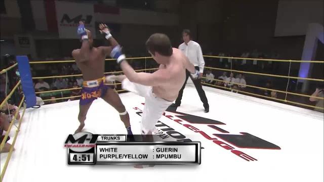Барри Герин vs Кристиан М`Пумбу, M-1 Challenge 05