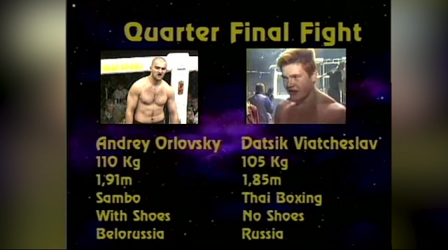 Андрей Арловский vs Вячеслав Дацик, M-1 MFC World Championship 1999