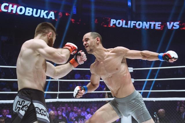 Стив Полифонт vs Юрий Чобука, M-1 Challenge 96